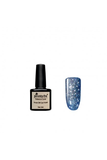Pretty2u Sparkling Star Series Soak Off Gel Polish 10ml