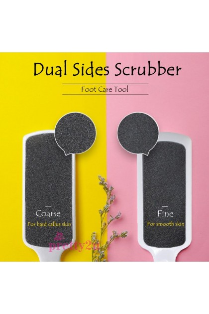 Foot Care Tool Manicure Pedicure Dual Sides Foot File Scrubber For Remove Callus Hard Skin 美甲工具 脚挫 磨脚板死皮刮脚用具