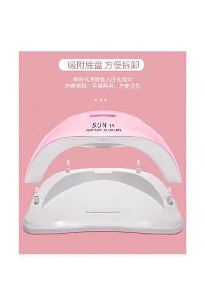 Nail Machine 80W Gel Color Curing Manicure Pedicure Sensor LED Lamp With Timer 美甲光疗机 LED智能感应灯 美甲灯