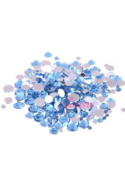 Nail Art Acrylic Rhinestones 2mm Nail Accessories Shining Stones Nail Decorations 200PCS/Pack 美甲饰品 亚克力闪钻 200粒一包