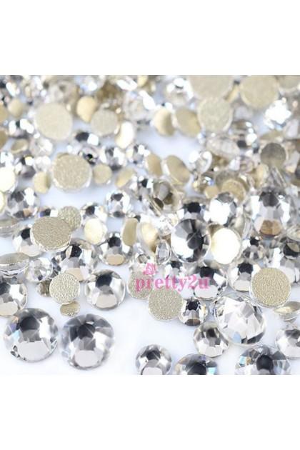 Pretty2u Super Shining SS Rhinestones SS16 Crystal (3.8mm) per pack